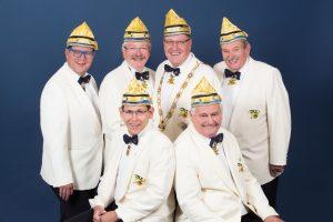 Mitglieder des geschäftsführenden Karnevalskomitees