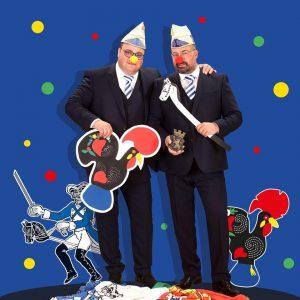 Paulo und Pedro Mendes, Bild: Eischwiele Alaaf