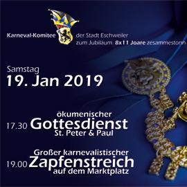 8 x 11 Joare zesammestonn – 8 x 11 Jahre Karnevals-Komitee der Stadt Eschweiler