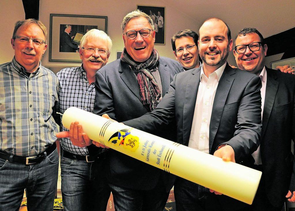 Geschäftsführendes Karnevals-Komitee (Foto: Irmgard Röhseler)
