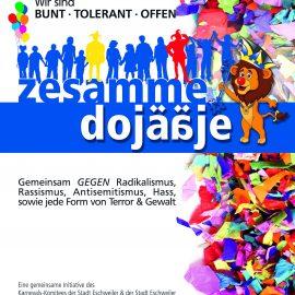 Zesamme dojääje! Gemeinsame Aktion des Karnevals-Komitees und der Stadt Eschweiler